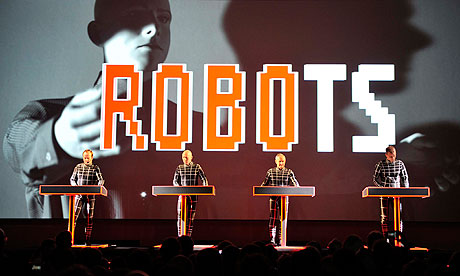 Kraftwerk perform at the Museum of Modern Art in New York