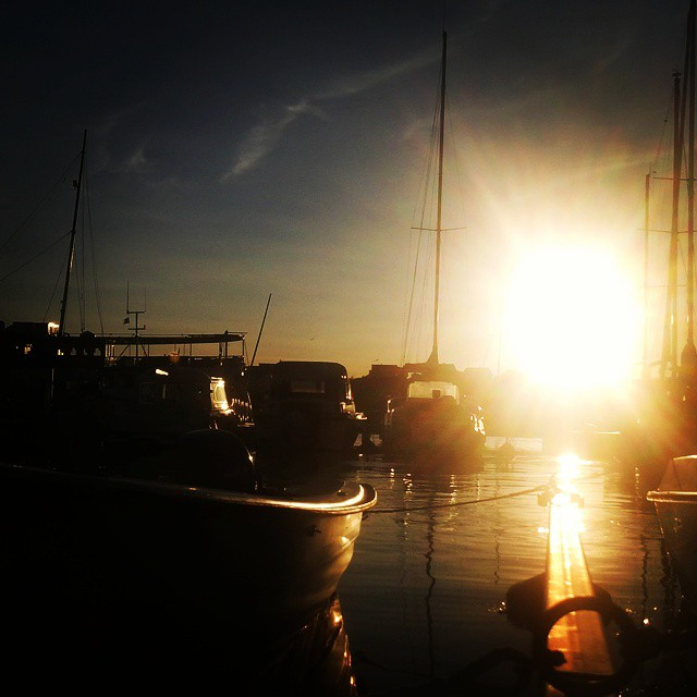 #HARBOUR #NAVY #SUNSET #BOATS