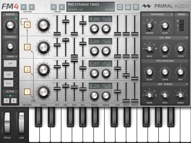 primal-audio-fm-4-synthesizer